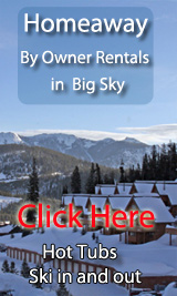 ski in out by owner vacation rentals in big sky